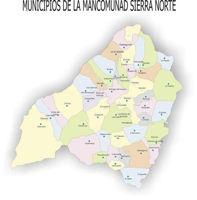 Estructura de la Mancomunidad  Mancomunidad de Servicios Sociales